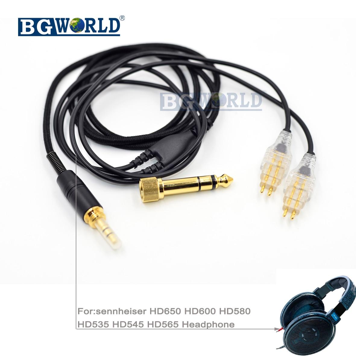 Copper Upgrade Cable For sennheiser  HD545 HD565 HD650 HD600 HD580