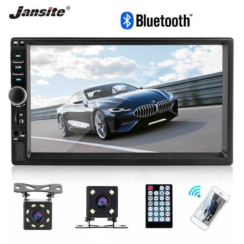 Jansite 7 2 din Car radio MP5 player FHD Touch Screen Autoradio multimedia player Parking System