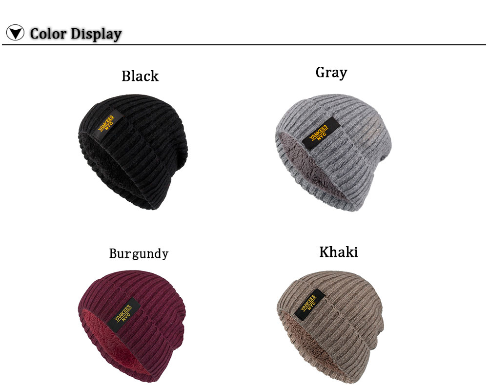 bb90691fd Details about AKIZON Winter Autumn Beanies Hat Unisex Warm Soft Skull  Knitting Cap for Men