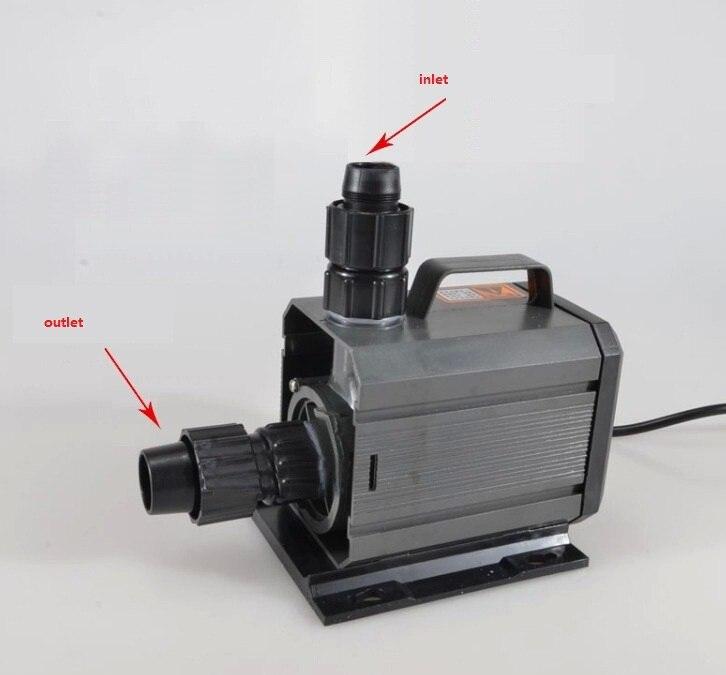 Pompes submersibles de réservoir de poissons HQB-3500 de pompe à eau 100 W, idée pour le filtre de bassin d'aquarium de filtre