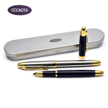 CCCAGYA D001 0.38mm nib ink pen. School Stationery Office Learning Student Business Metal gift pen Classic  Fountain