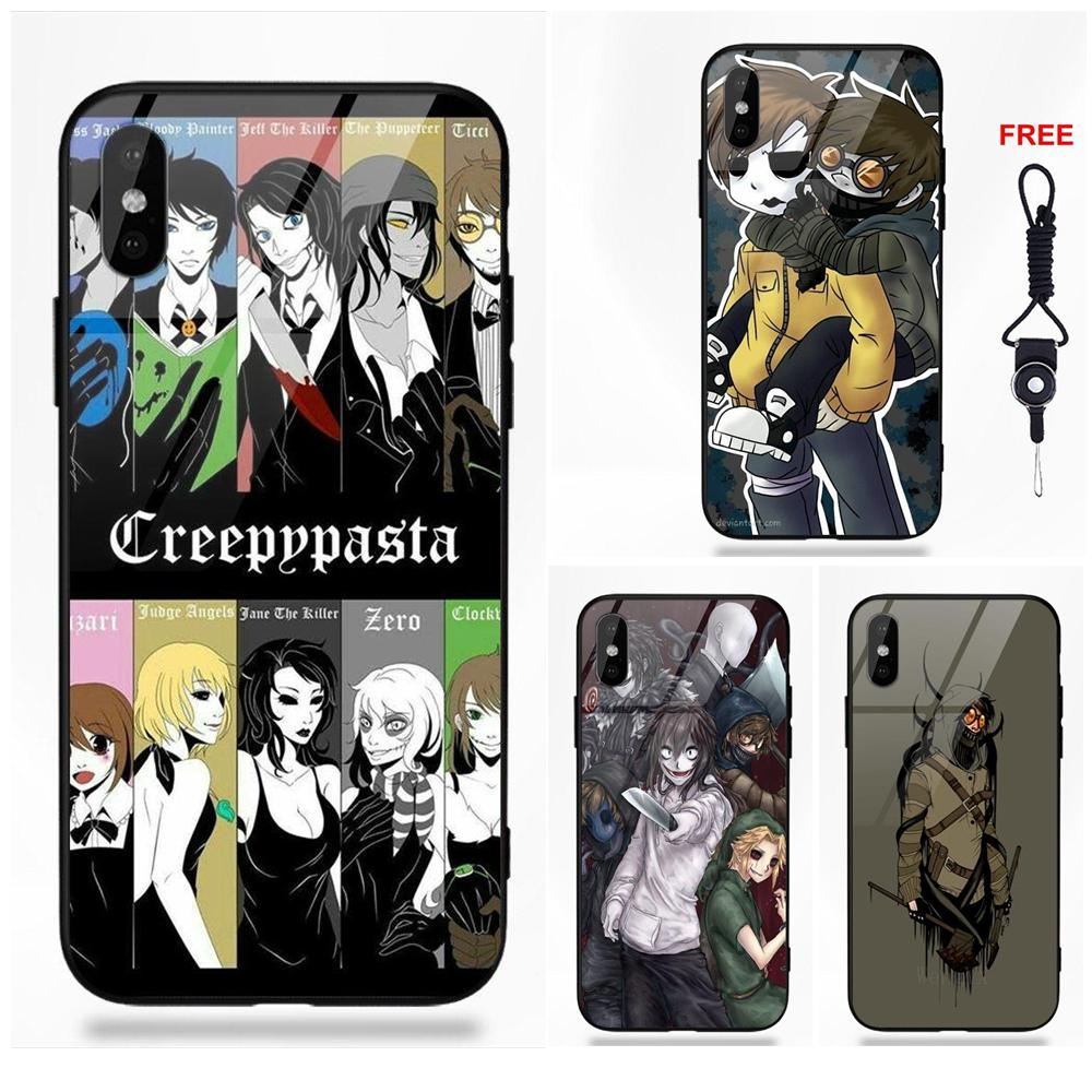 Creepypasta Ticci Toby x reader Hard Phone Case Cover For Xiaomi