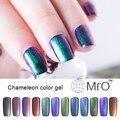 2016 MRO 2 шт./лот уф цвет сгвпоон де гель лак для ногтей-хамелеон esmaltes permanentes de уф лак для ногтей, что изменения цвет