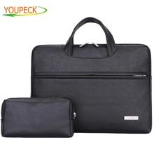 Pu Leather Women Handbag Men Bag 11.6 13.3 14.1 15.4 15.6 Wa