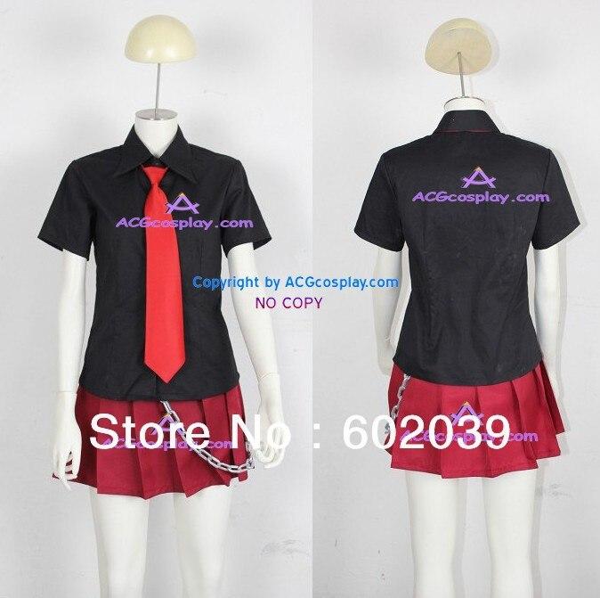 xxxholic Neko Musume Cosplay Costume include Chain prop good quality ACGcosplay