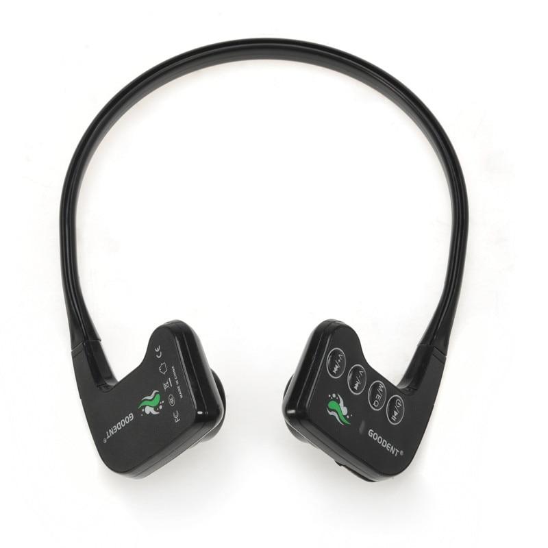 winait bone conduction waterproof sports mp3 player with 8gb memory music player free shipping