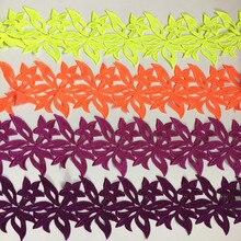 CHICKNIT 5 ヤード多数色刺繍水溶性レーストリミング縫製住所アクセサリー DZ1