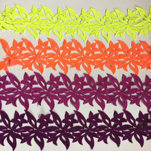 CHICKNIT 5 yards numerous colors Embroidered Water soluble lace trimmings for sewing adress Accessories DZ1