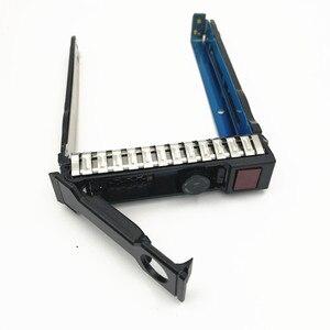 Image 2 - 10 حزم 651687 001 G8 2.5 بوصة Gen8 القرص الصلب صينية/العلبة/قوس ل Gen8 DL380 360 160 385 ، شحن مجاني