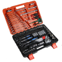 Motor Car Filter Repair Tool Set 120pcs Combination Torque Wrenches Ratchet Socket Spanner Mechanics Tool Kits