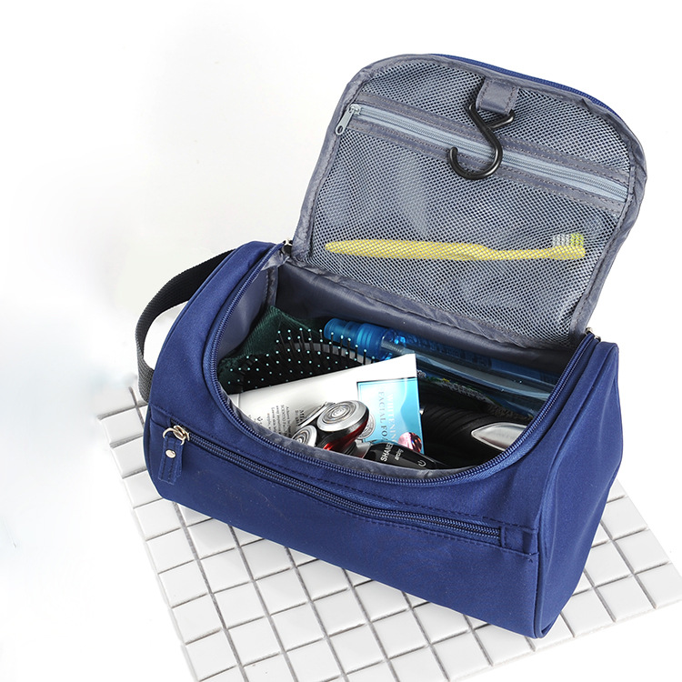 New Men Travel Hook Tolietry Bag Large Waterproof Makeup Bag Nylon Travel Cosmetic Bag Organizer Case Necessaries Make Up Bag