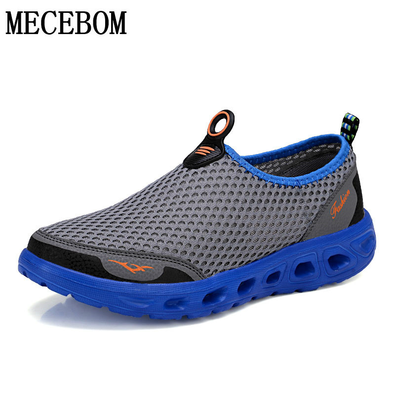 Men's summer slip-on shoes fashion mesh breathable casual shoes comfortable lightweight loafers sapatos hombre size 35-45 X6