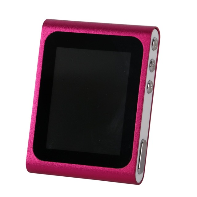 "1.8""LCD Screen Mp4 Music Media Player FM Games Movie 6th Generation"