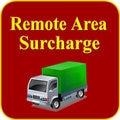 Поставка отдаленной Области Дополнительную Стоимость Доставки для Курьерских Компаний, Таких Как DHL Fedex