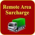 Coste de Envío Adicional de Entrega de la Área remota para Compañías de Expreso Como DHL Fedex