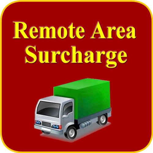 Remote Area Delivery Additional Shipping Cost for Express Companies Such As DHL Fedex