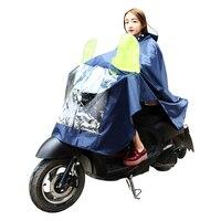 Travelsky חיצוני אופנוע מעיל גשם גשם פונצ 'ו נשים גברים מבוגרים PVC ידידותי לסביבה אוקספורד עמיד למים מעיל גשם פונצ' ו בגדי גשם