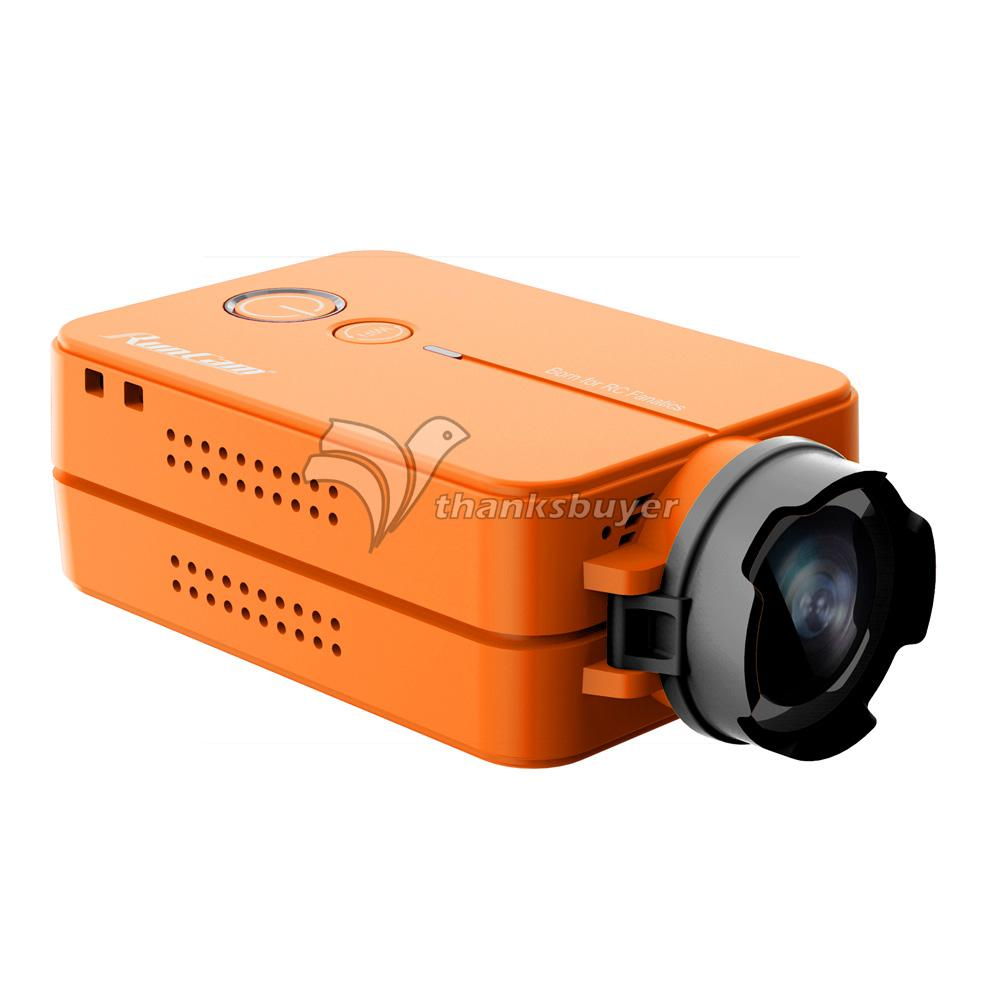 RunCam2 1080P 60fps HD FPV Sport Camera USB Interface Support WIFI for RC Multic