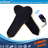 Shoes Woman Super Warm Boots Insoles Electric Heating Insoles Free Shipping Winter Remote Control For Shoes2300mAh