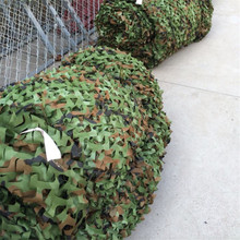 Caça ao ar livre cego camuflagem rede de tecido caça tenda woodlands camuflagem net acampamento militar selva carro gota rede