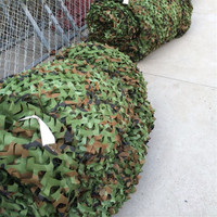 Outdoor Hunting blind camouflage netting fabric Hunting Tent Woodlands Camouflage net Camping Military jungle car drop netting