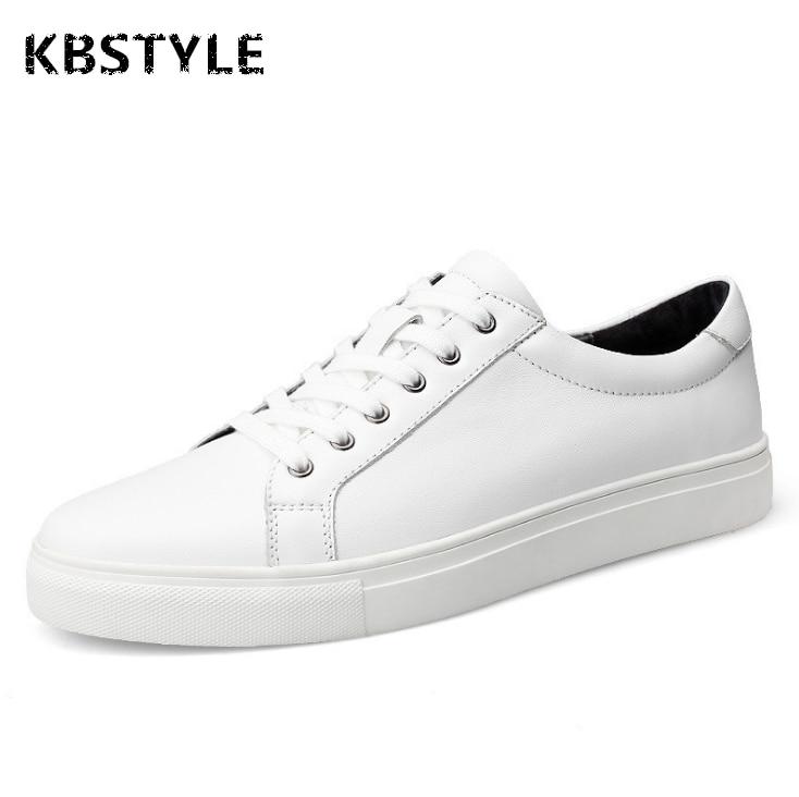 KBSTYLE Zapatos Para Hombre de la Primavera Marca de Moda de Ocio de Los Hombres