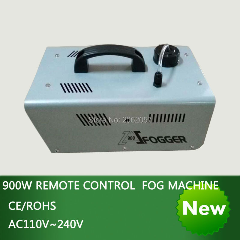 High quality 900W remote control fog machine pump disco DJ radio-controlled smoke machine stage Lampblack machine for party