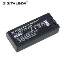 High Quality 1PCS NP-FC11 NP FC11 NP FC11 Rechargeable Battery Camera Batteries For SONY DSC-P2 P3 P5 P7 P8 P9 P10 V1 F77 FX77