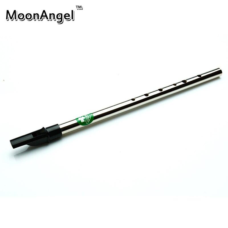 ᗕEstaño Silbatos irlandés Silbatos Flautas 6 agujeros en D llave ...