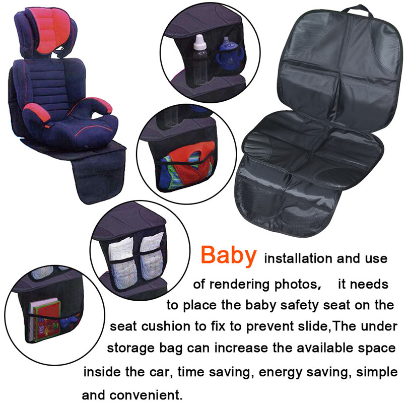 Universal Car Auto Seat Protector Cover For Children Kick Mat Mud Clean Car Styling Retail Wholesale
