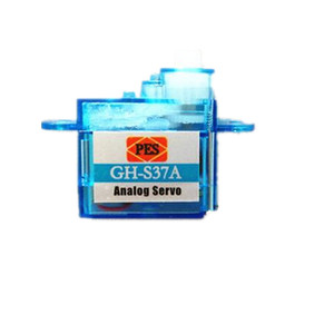 Image 2 - 10pcs/lot Miniature GH S37A GH S43A GH 3.7g/4.3g Micro Analog Servo For RC Airplane Helicopter 30% off