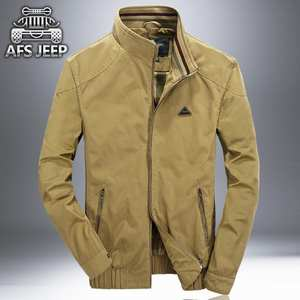 MABVOXZ Men Jacket Casual Male Army Military Coats