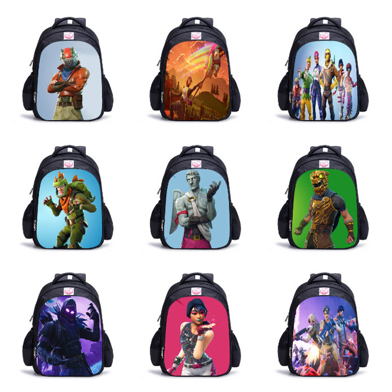 Fortnit Game Backpack Boy Girls Children Bags 3D Battle Royale Daily Backpacks Kids Book Bag Cosplay Costume Teenagers Bagpack