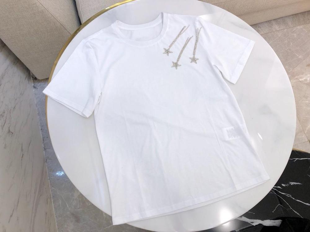 T Rmsx Diamanten Casual T shirt Sommer Neue 4 2 Frauen 09 Stern Farbe CvxqwE0FA
