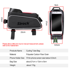 Waterproof Bicycle Front Frame Bag