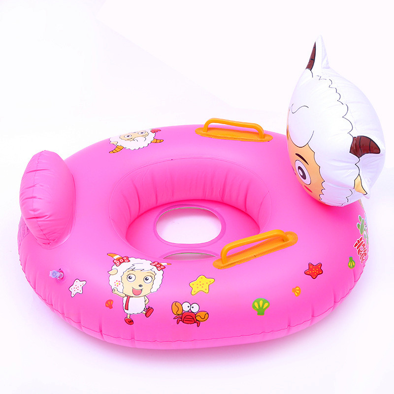 iEndyCn Baby Cute Cartoon Swimming Ring Thicken Swim Ring Swimming Pool Accessories GXY141
