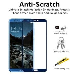 Image 3 - Защитное 3D стекло для Honor 9 Lite, защитное покрытие для экрана Honor 9 Lite, закаленная пленка для Huawei Honor 9 Lite, 9, 10