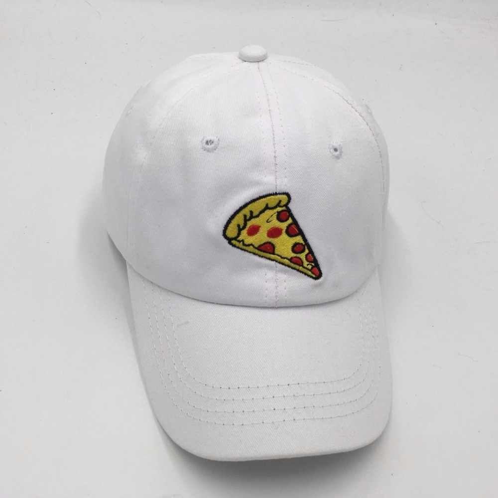 5c6fc05d7a7 ... which in shower unstructured the rapper embroidery pizza dad hat cotton  adjustable food baseball cap male ...