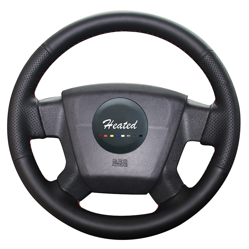 Steering Wheel Cover for Jeep Compass 2006-2010 Old Patriot 2007-2010 Artificial Leather Braid on the steering wheel