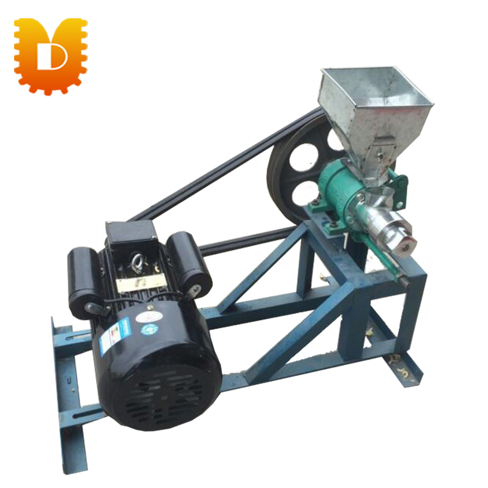 With motor auto corn/rice puffing machine Multifuction cereal bulking machine Puffed snack food extruder making machine free shipping food snack extruder puffed corn machine puffing rice machine with best price