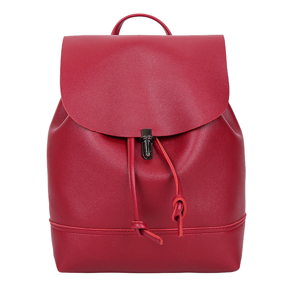 HTB105Loa21H3KVjSZFBq6zSMXXaR - Casual Large Capacity Shoulder Bags Vintage Pure Color Leather School Bag Backpack Satchel Women Trave Shoulder Bag