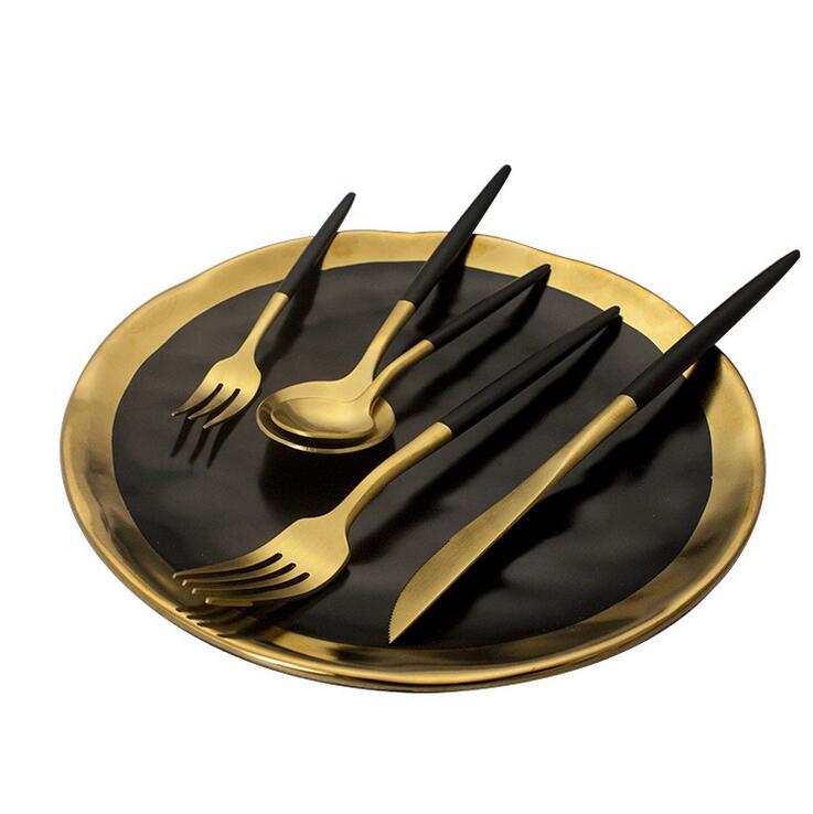 KuBac Hommi 30pcs Black Gold Cutlery setKuBac Hommi 30pcs Black Gold Cutlery set