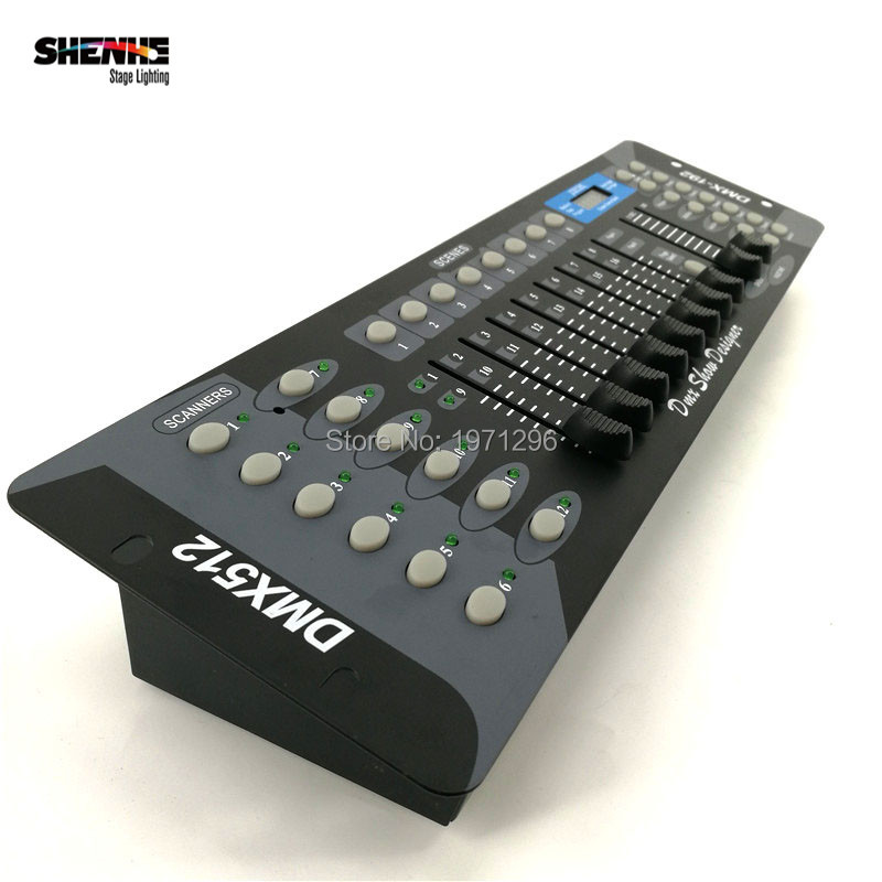 Free shipping NEW 192 DMX Controller DJ Equipment DMX 512 Console Stage Lighting For LED Par Moving Head Spotlights DJ Controlle free shipping dmx 192 controller cheap