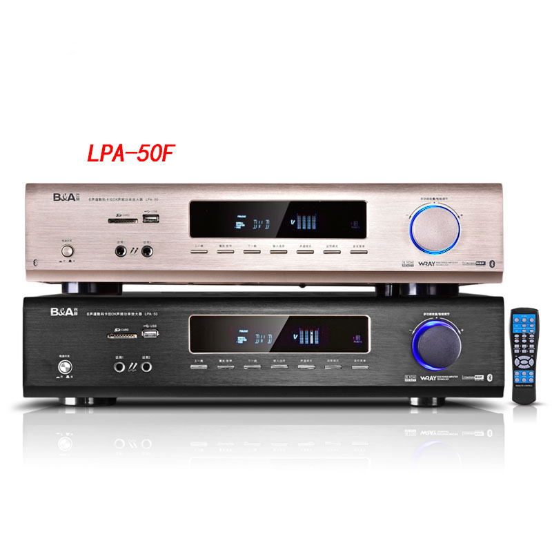 2018 LPA-50F true 5.1 Dolby AC-3 home digital professional HIFI Bluetooth amplifier home amplifier theater audio 2017 new 220v 0f amplifier home 5 1 high power home theater av digital bluetooth hifi sound lpa 50