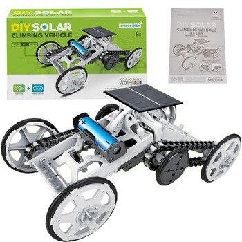 DIY Educational Toy Solar Energy Hybrid Car 2