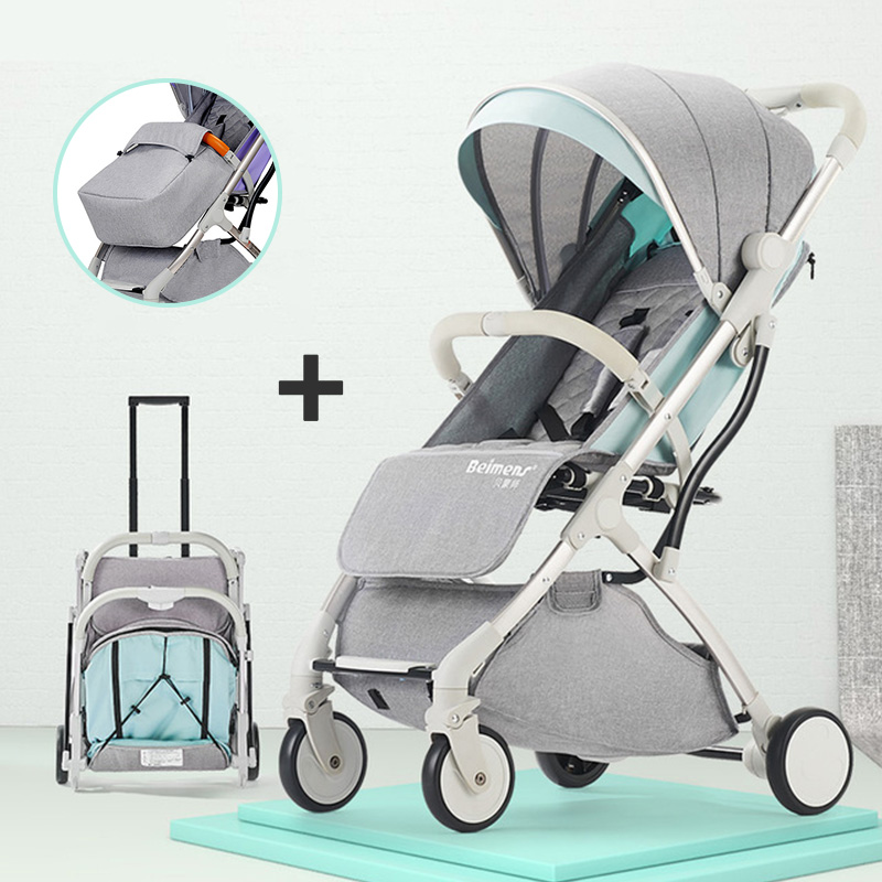 High landscape baby stroller ultra-light portable simple folding trolley  baby hand push umbrella car with 7 pcs  free gifts High landscape baby stroller ultra-light portable simple folding trolley  baby hand push umbrella car with 7 pcs  free gifts
