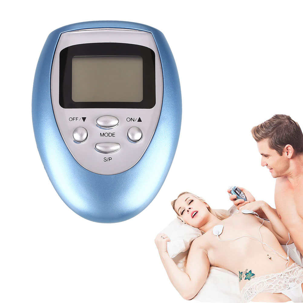 Health Care Electric Slimming Body Massager Pulse Muscle Relaxation 4 Pads