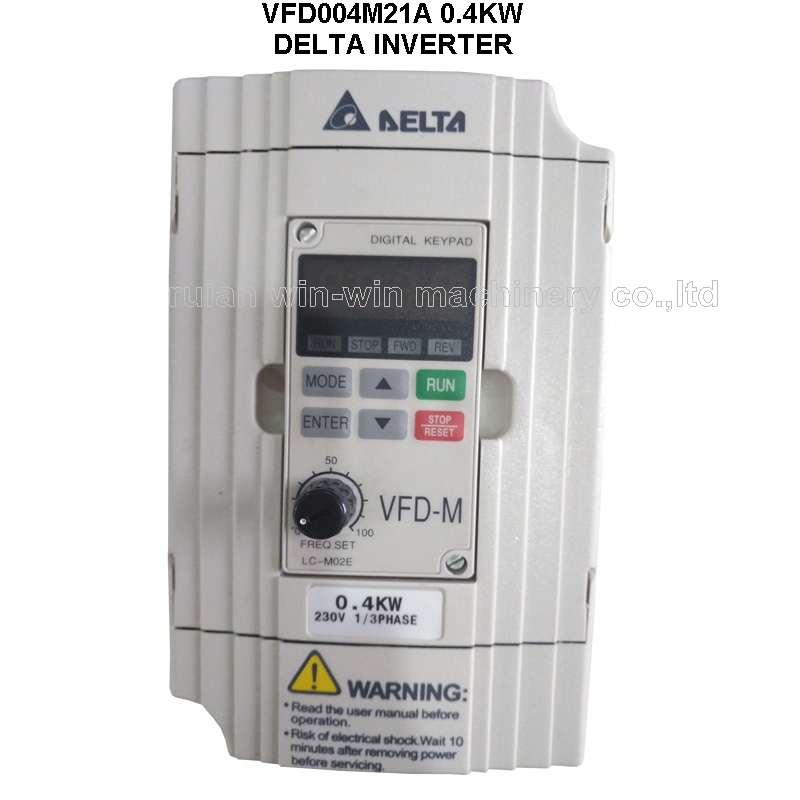 Delta Inverter VFD004M21A 0.4KW 220V New