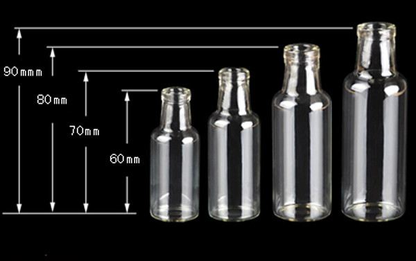 Atacado Capacidade 35 ml (30*90*11mm) 50 pcs
