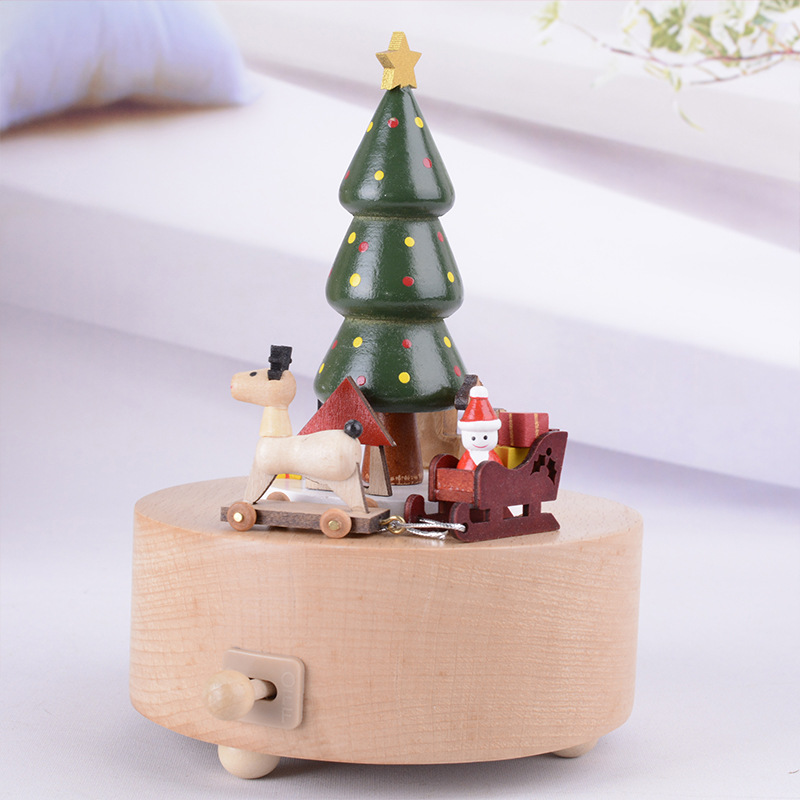 Top Christmas Gifts 2019 For Kids: 2019 Hot Sale Christmas Tree Music Box Creative Gift